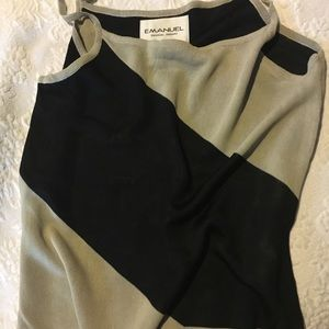 Emanuel Ungaro Tops - Emanuel Ungaro Color Block Sweater Tank